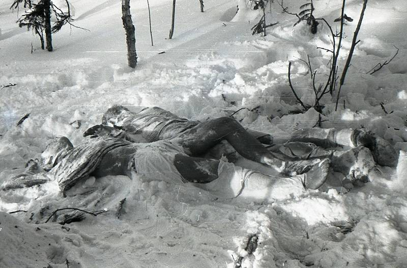 Bodies Of Yuri Krivonischenko And Yuri Doroshenko