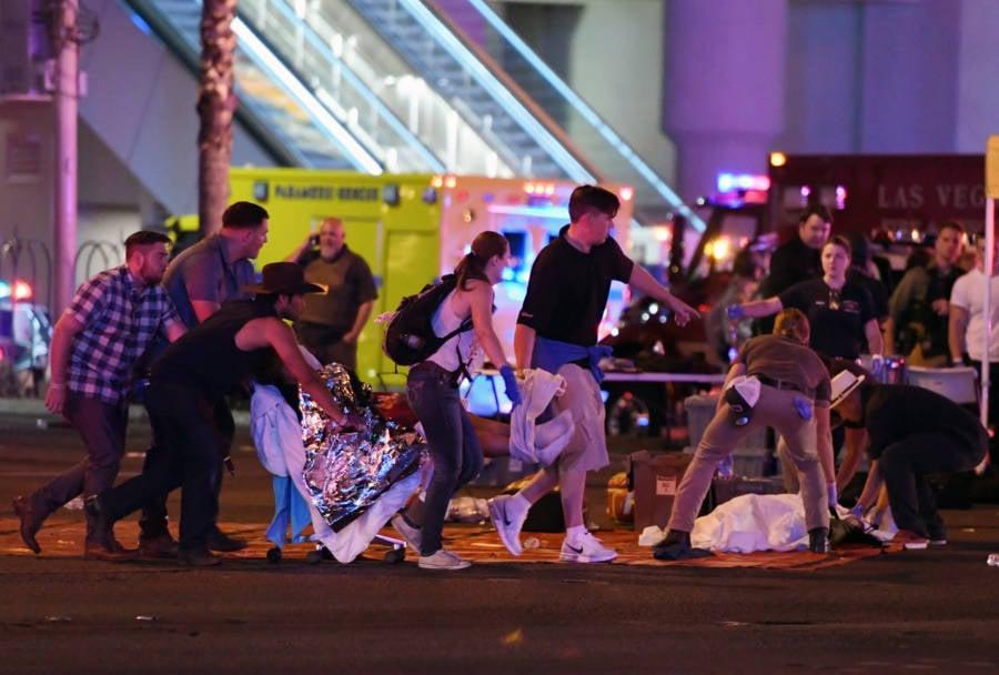 Las Vegas Injured Victim