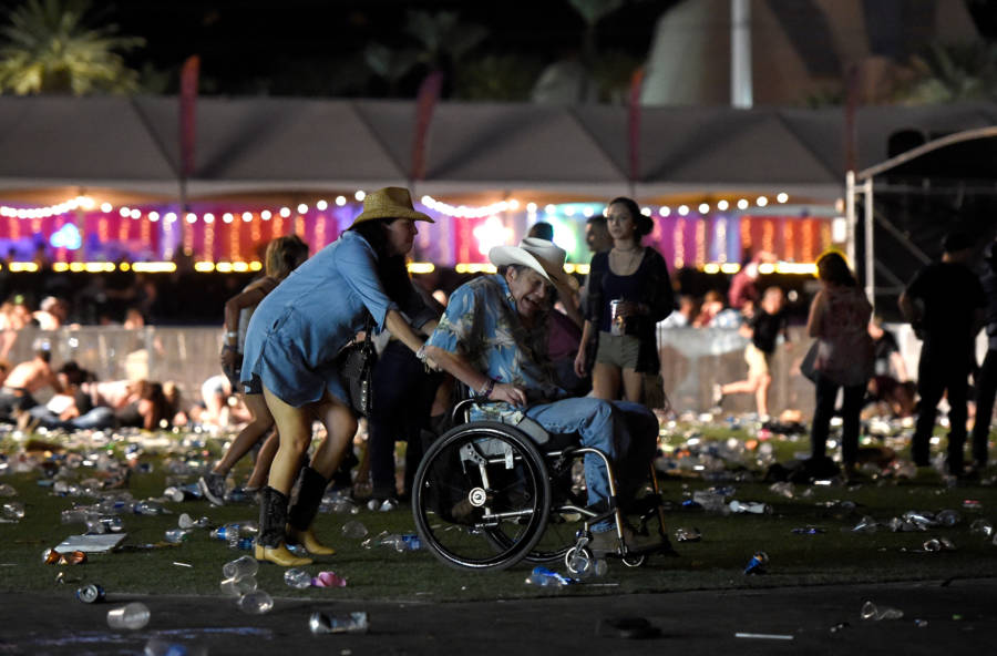 Las Vegas Shooting Concertgoers