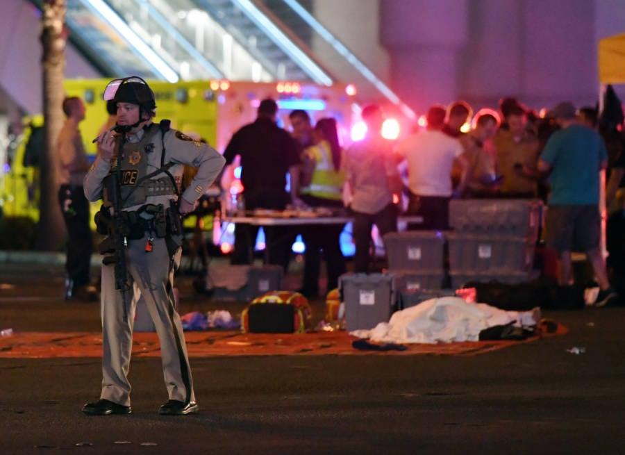 Las Vegas Shooting Corpse