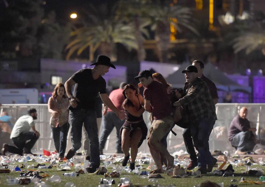 Las Vegas Shooting Fleeing