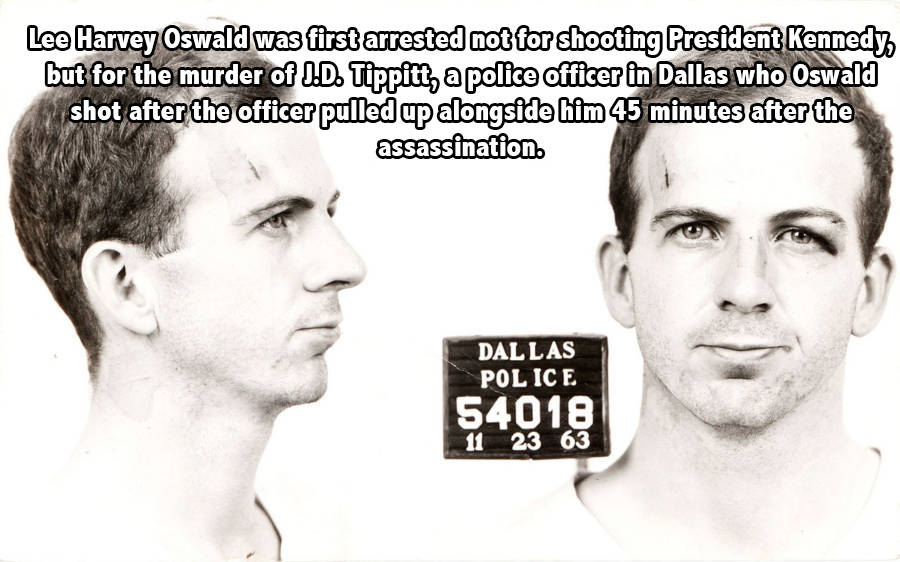 Lee Oswald Police Fact