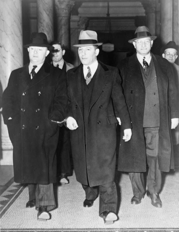 Louis Lepke Buchalter And J Edgar Hoover