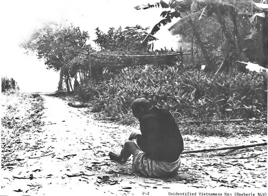 Man Cries During My Lai Massacre