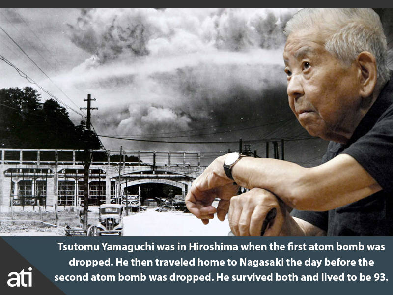 Man Who Survived Both Atomic Bombs In Japan