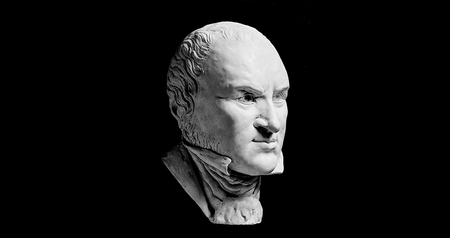 Marble Bust Of Liston