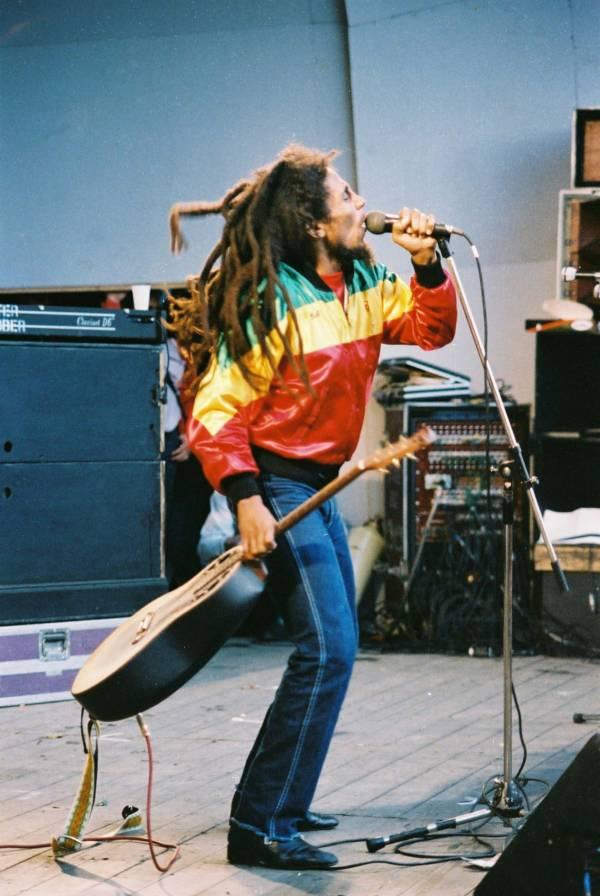 Marley In Rasta Jacket