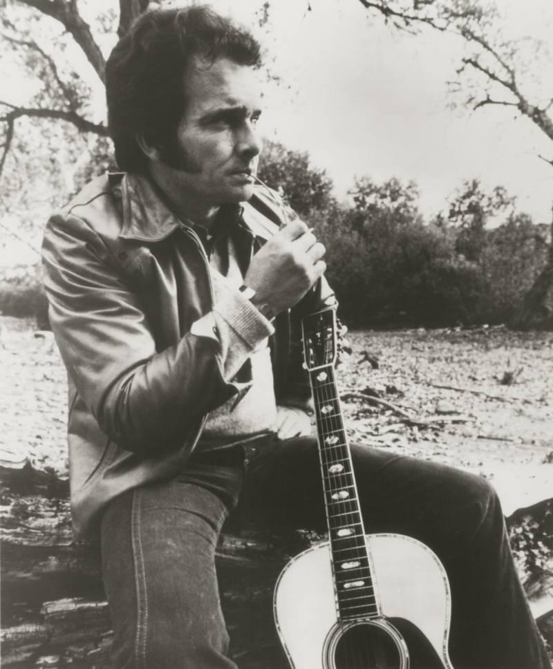Merle Haggard Sitting