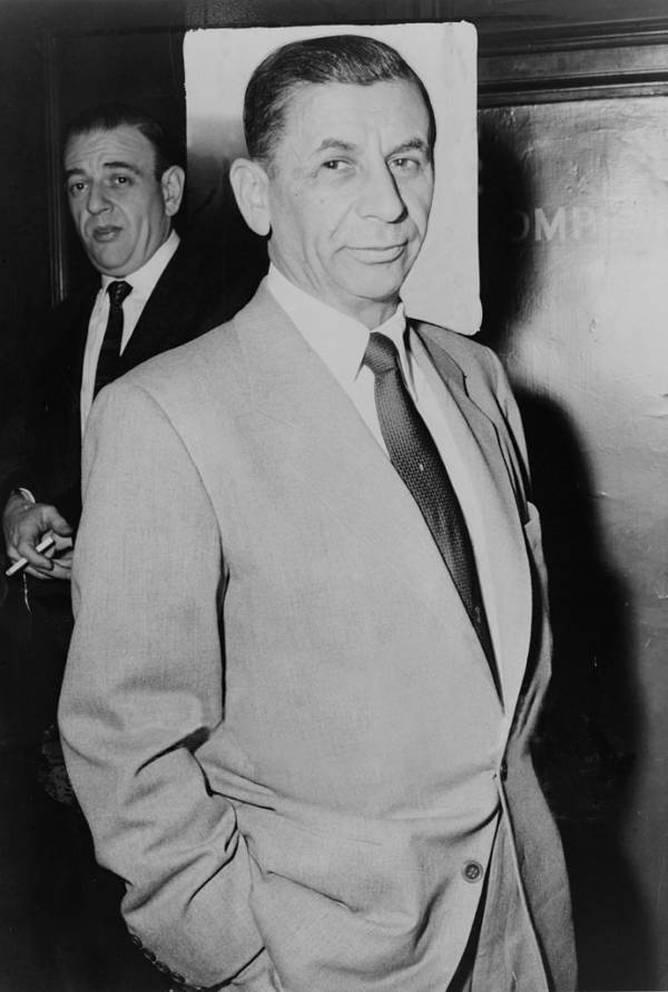 Meyer Lansky Standing