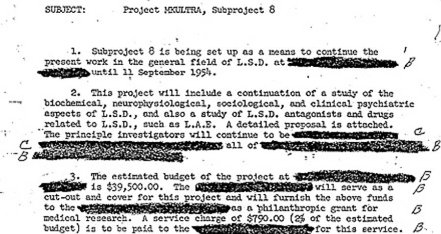 Project MKUltra File