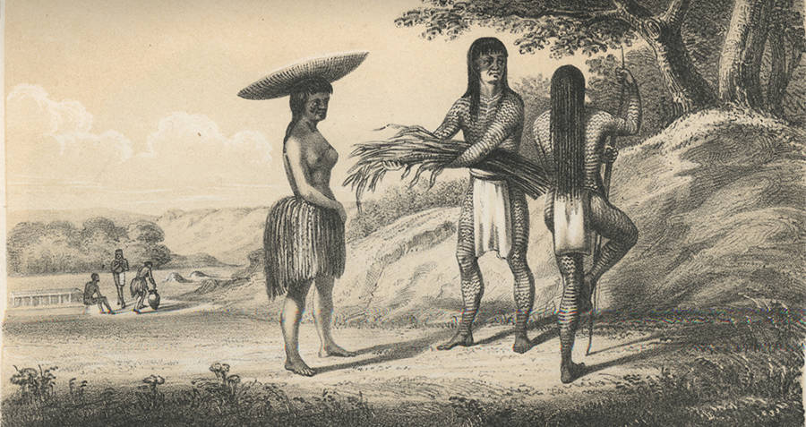 Mohave Tribesmen