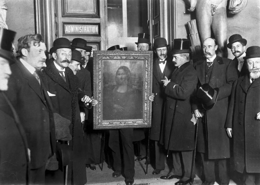 Mona Lisa's Return