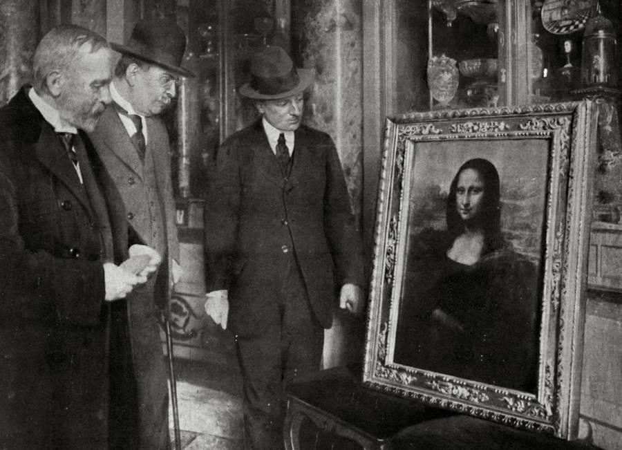 Mona Lisa At Uffizi