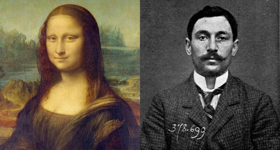 Mona Lisa And Vincenzo Peruggia
