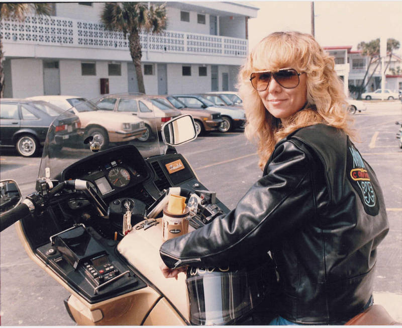 Motorcycle Woman Cool Vintage Photos