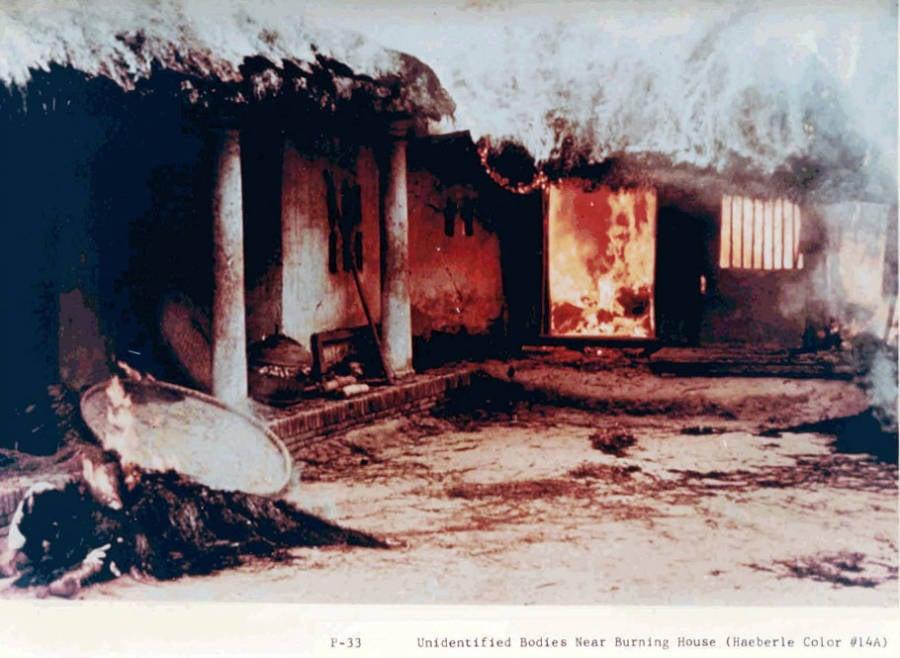 My Lai Burning House