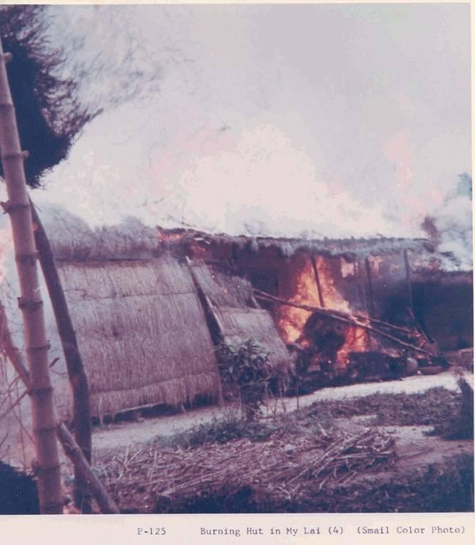 Burning Hut