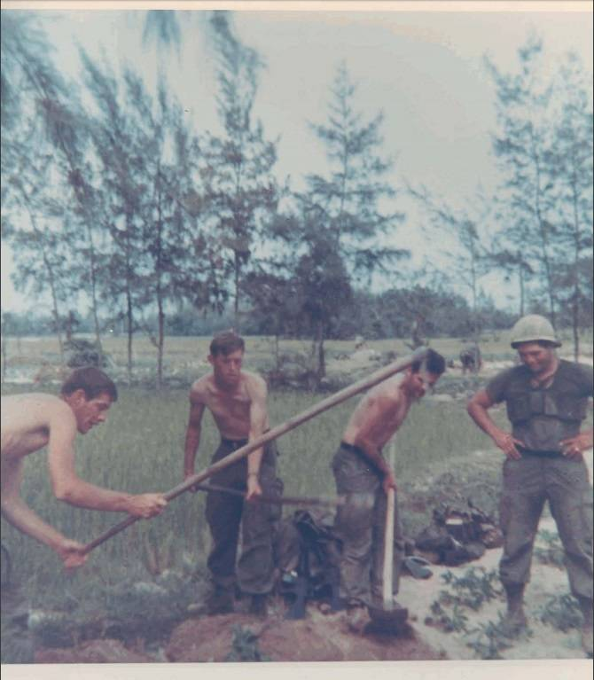 My Lai Digging Graves