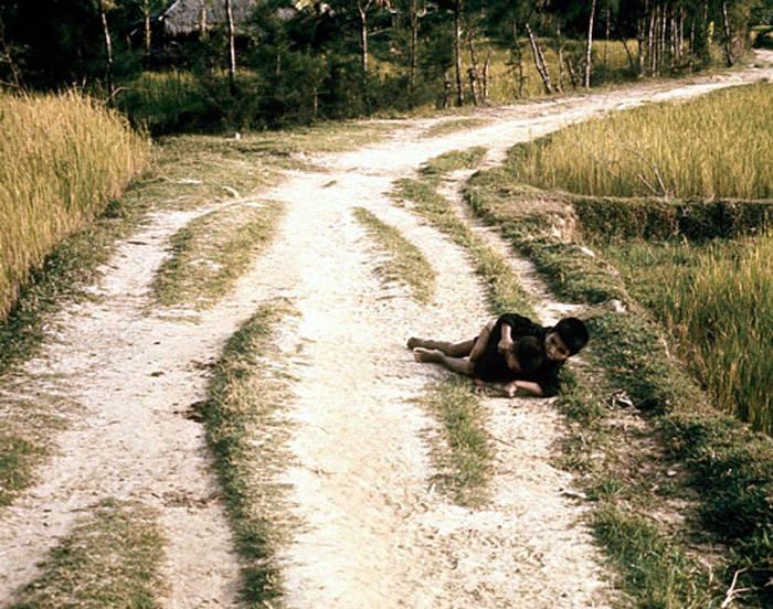 My Lai Photos Dying Boy
