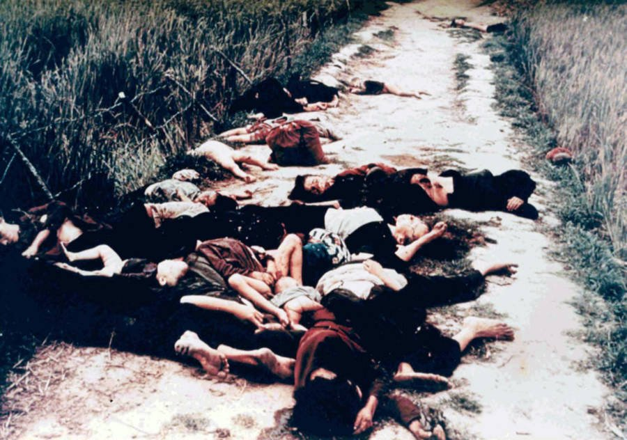 My Lai Massacre Bodies