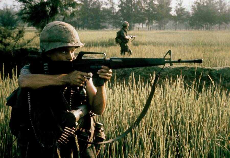 My Lai Massacre M16