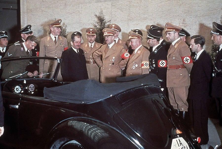 Nazi Volkswagen Bug