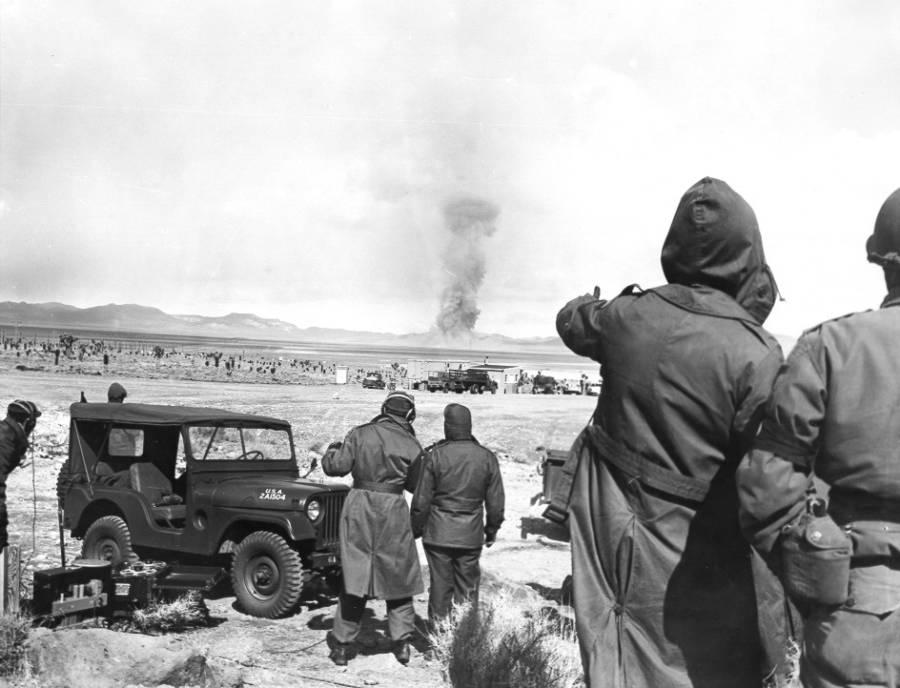 Nevada Atomic Test Site