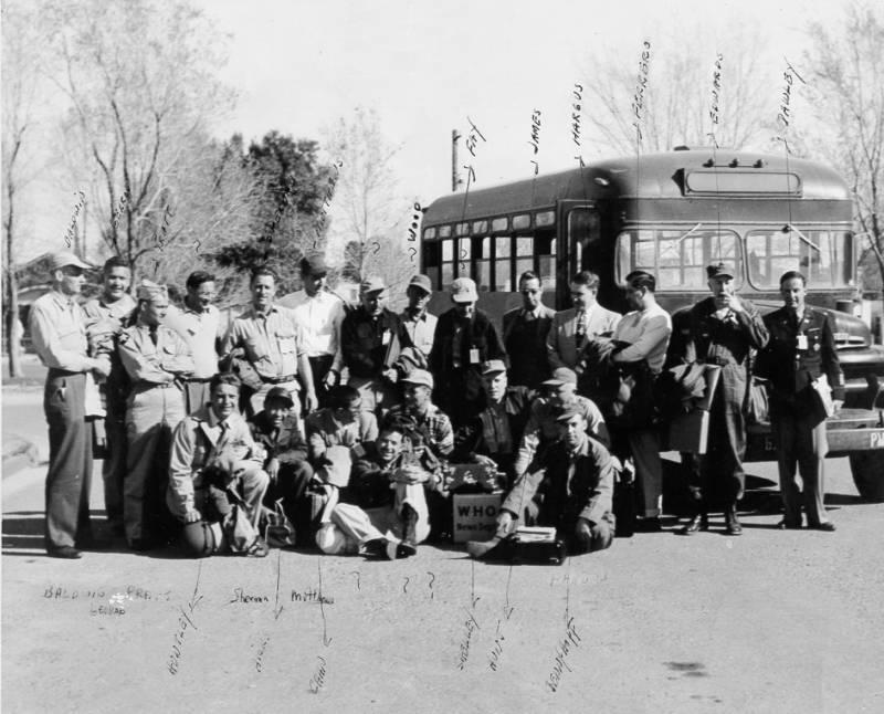 News Correspondents Bus