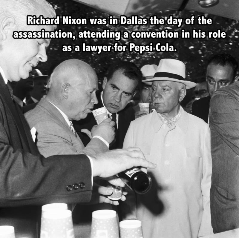 Nixon Pepsi Facts