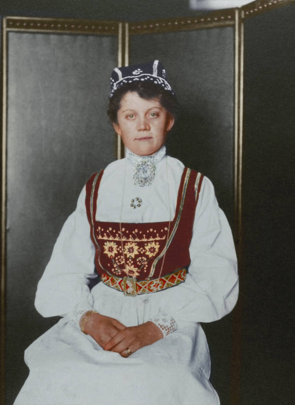 Norwegian Woman Portrait