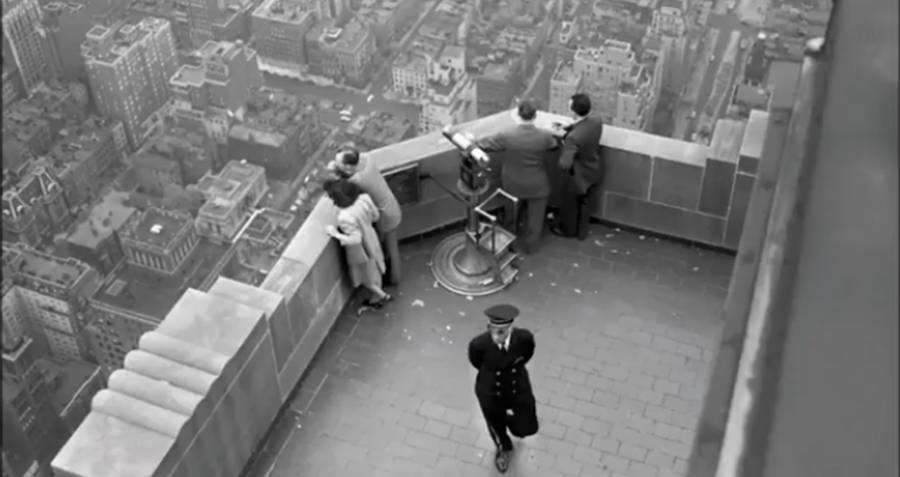 Observation Deck Of The Empire State Building