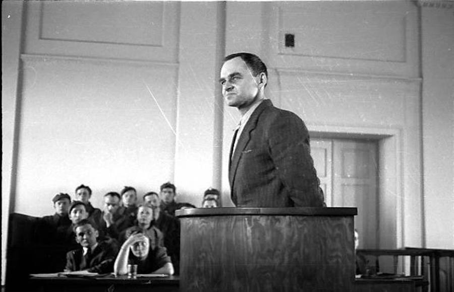 Witold Pilecki On Trial