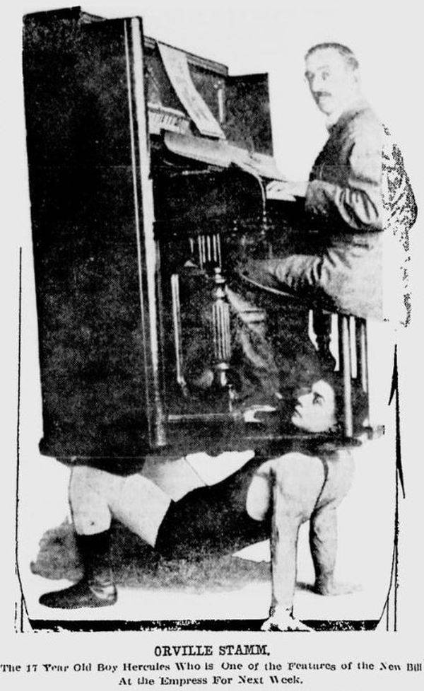 Orville Stamm Piano Strongman