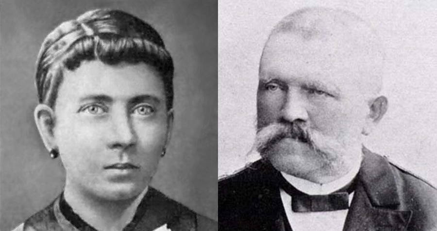 Hitler's parents Klara and Alois Hitler