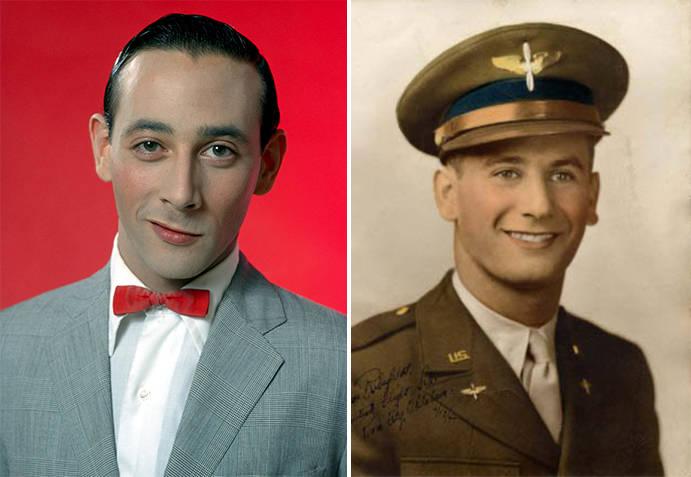 Pee Wee and Milton Rubenfeld