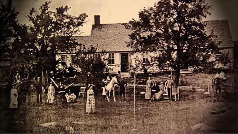 Oldest Photo Of The Perron House