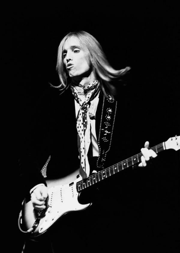 Petty Playing Guitar