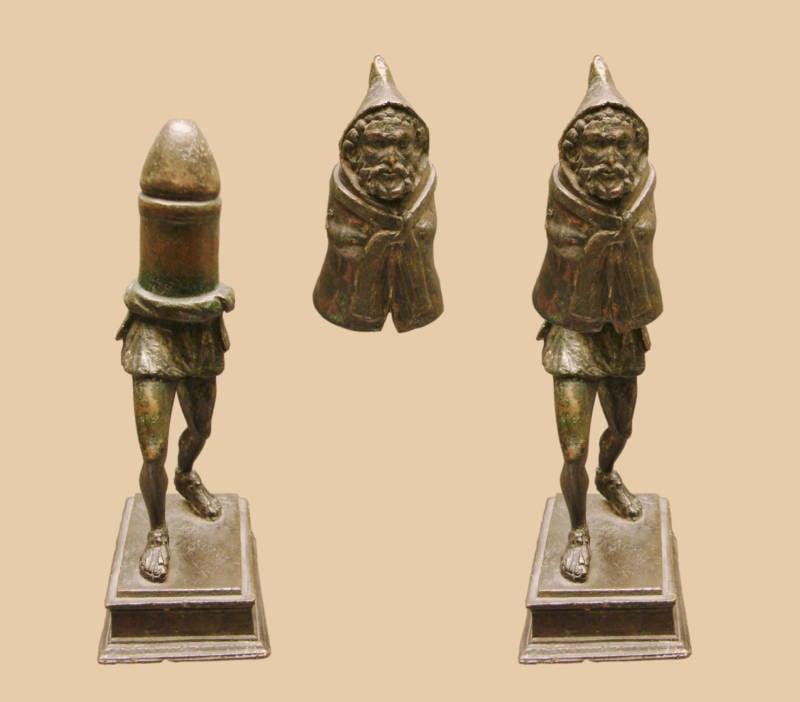Ancient penis figures erotic art