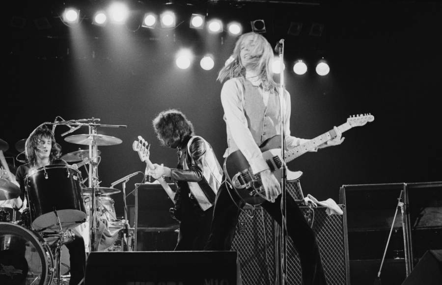 Playing Guitar Tom Petty