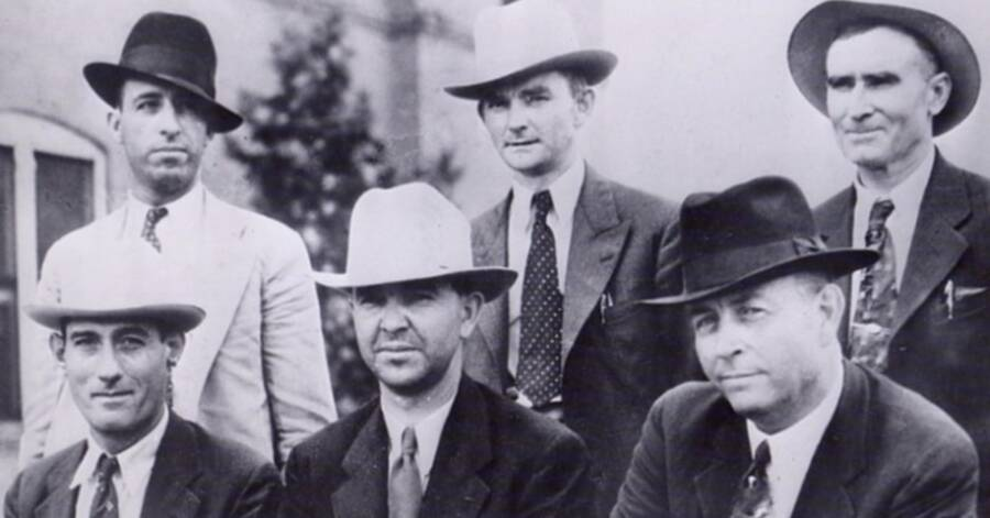 Police Who Killed Bonnie And Clyde