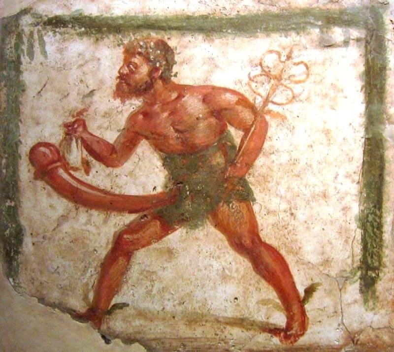 Priapus fertility god