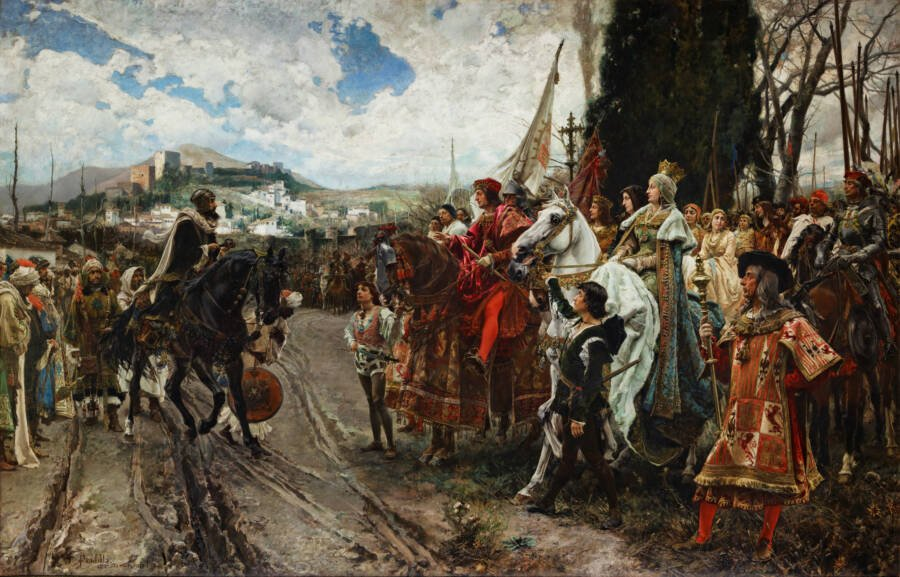 Reconquista Surrender Of Grenada