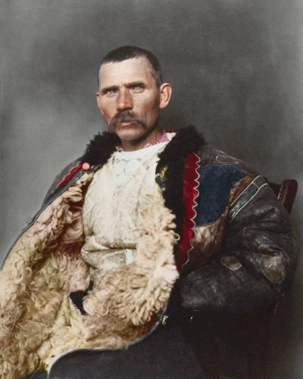 Romanian Shepherd Portrait