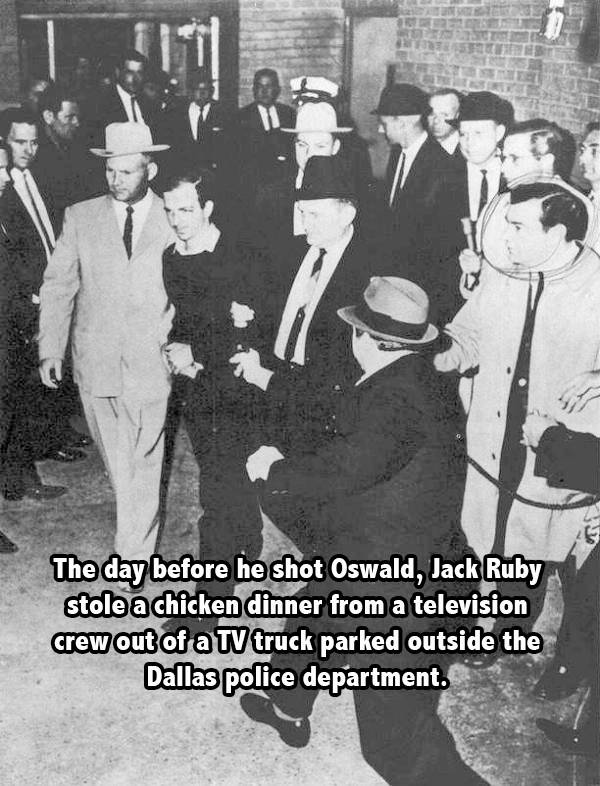 Ruby Oswald Chicken Tv Fact