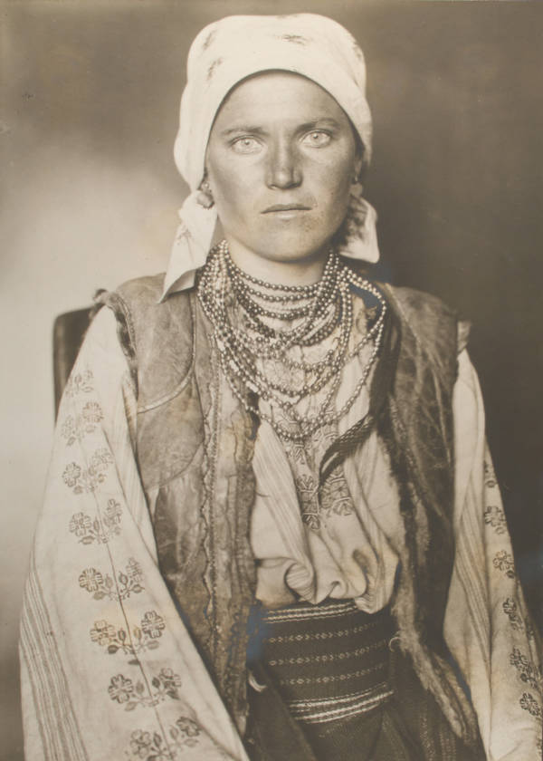 Ruthenian Woman Face