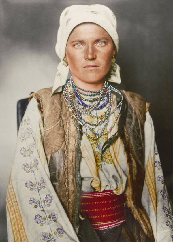 Ruthenian Woman Portrait