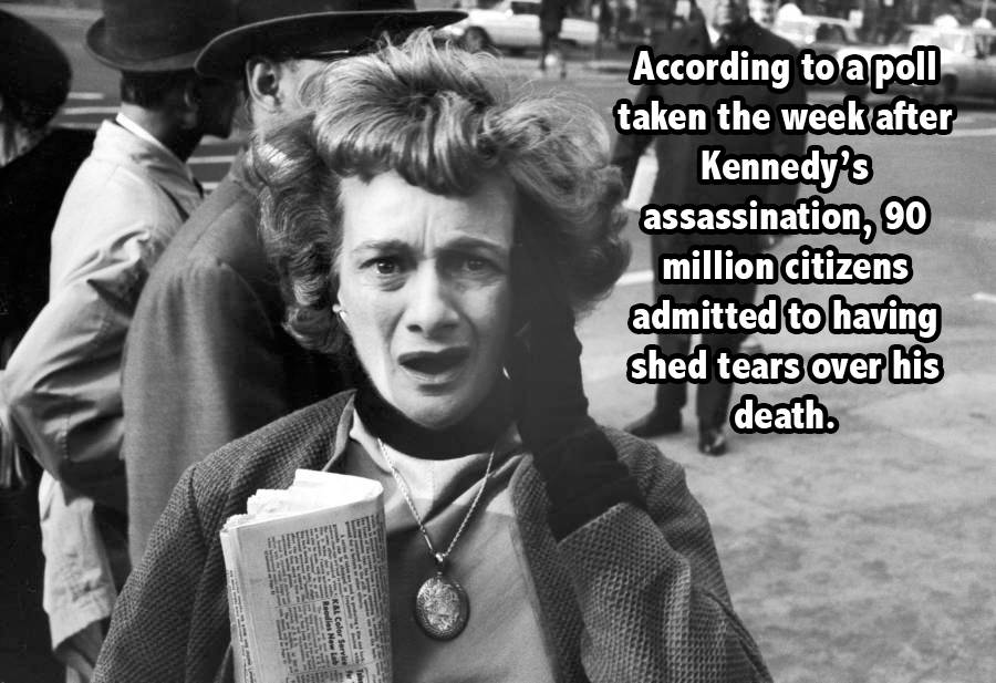 Shocked Woman Jfk Facts