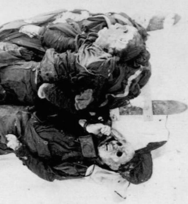 Snowy Dyatlov Corpses