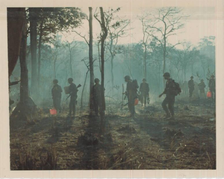 Soldiers In Haze Vietnam War Photos