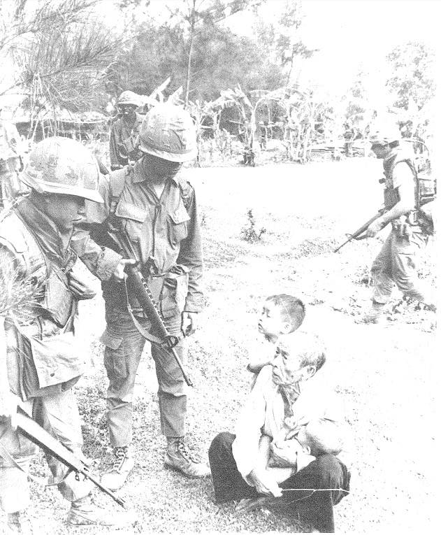 Soldiers With Vietnamese Father